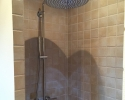 rain shower with large shower / rain shower med stor hovedbruser